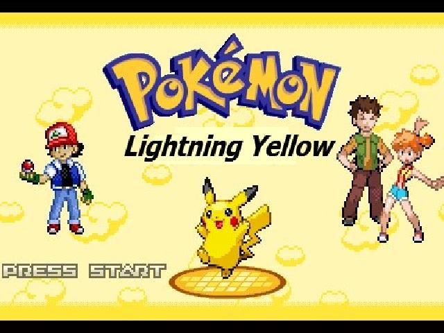 Pokemon Lightning Yellow GBA % 100 Türkçe Yama V.2