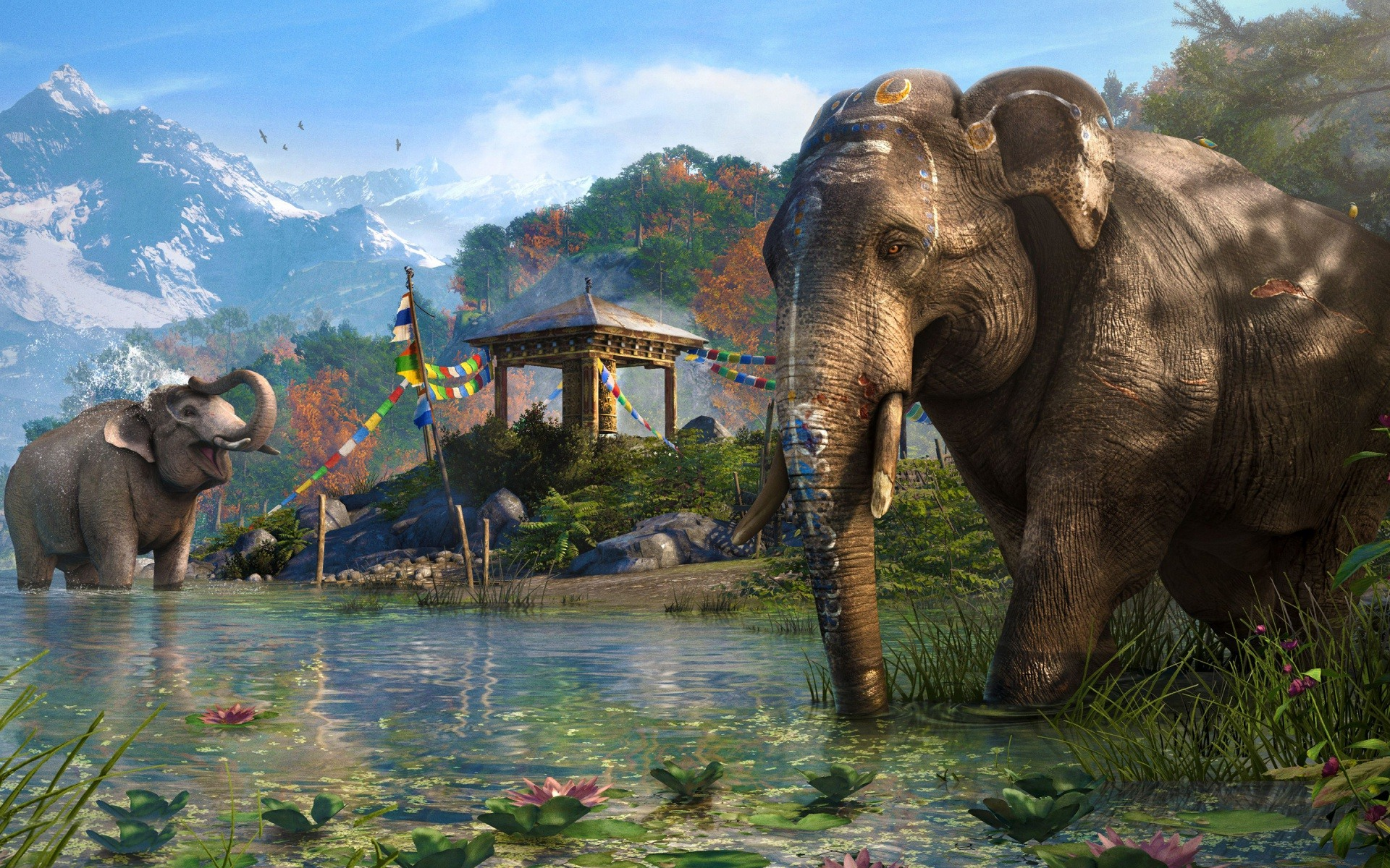 Elephant In Far Cry 4 Wallpaper