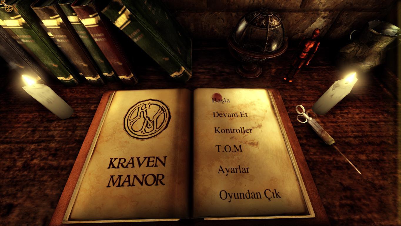 Kraven Manor - Türkçe Yama