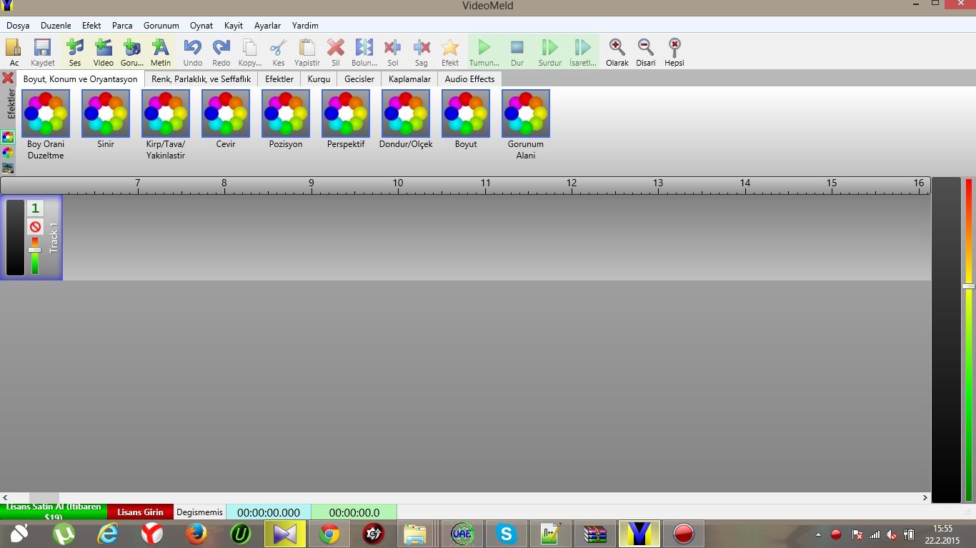 VideoMeld [Video Programı] Türkçe Yama