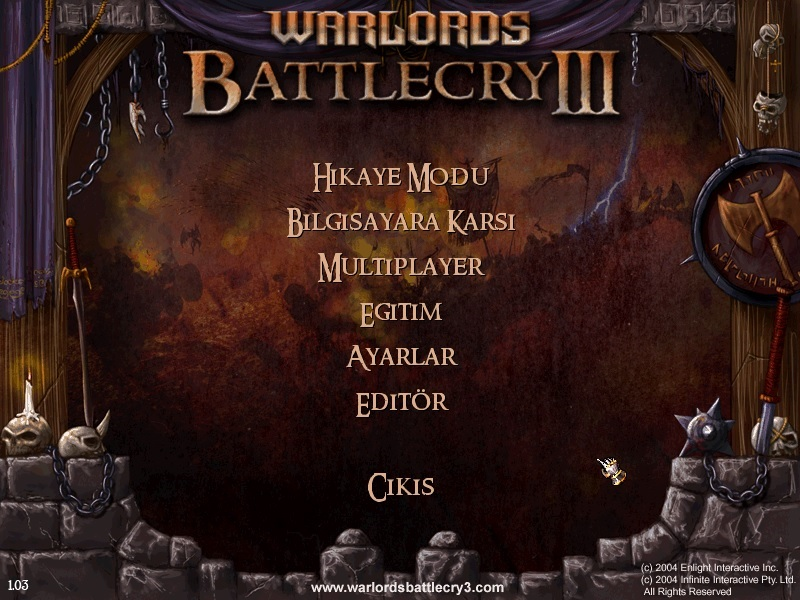 Warlords Battlecry 3 % 100 Türkçe Yama