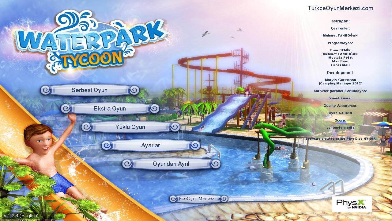 Waterpark Tycoon - Türkçe Yama Çalışması