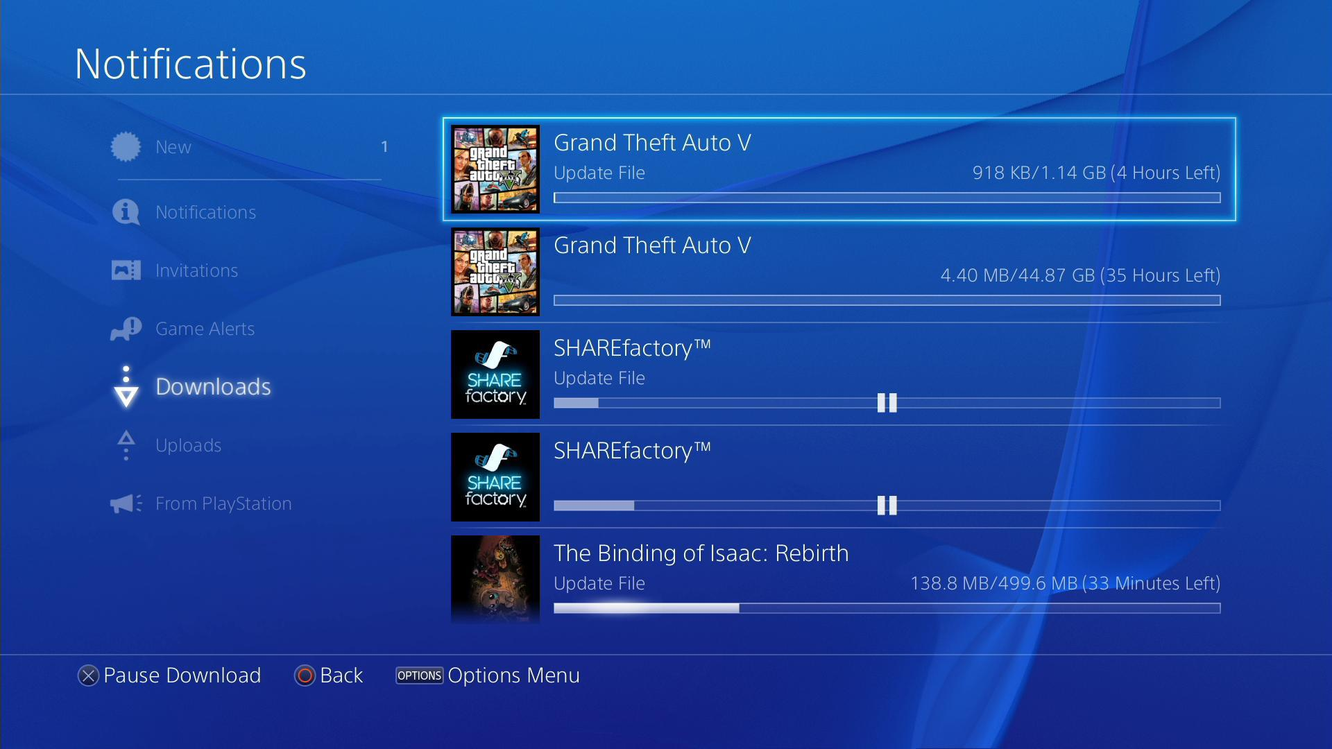 Grand Theft Auto V PlayStation 4 Ön Yükleme