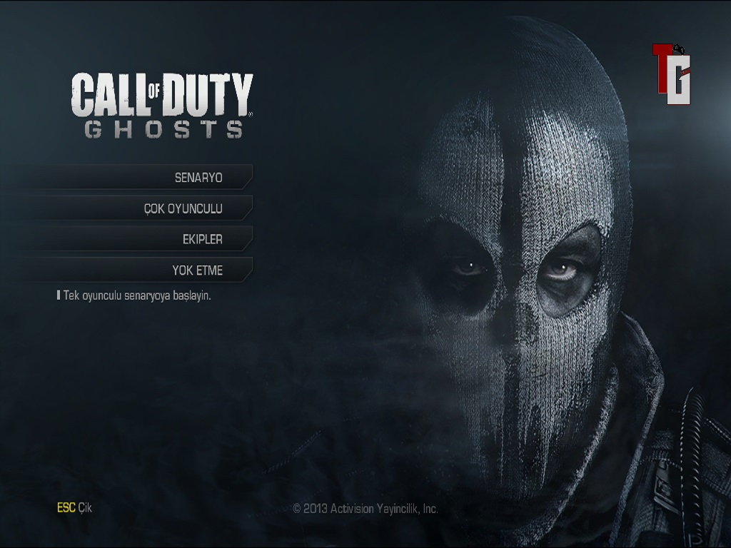 Call of Duty Ghosts % 100 Türkçe Yama