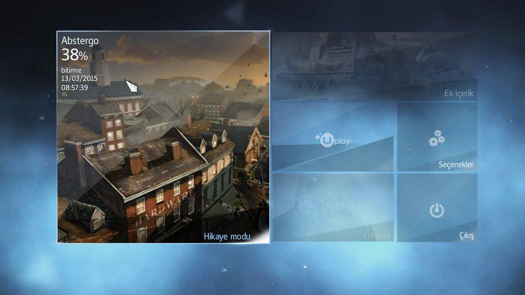 Assassin's Creed Rogue % 100 Türkçe Yama