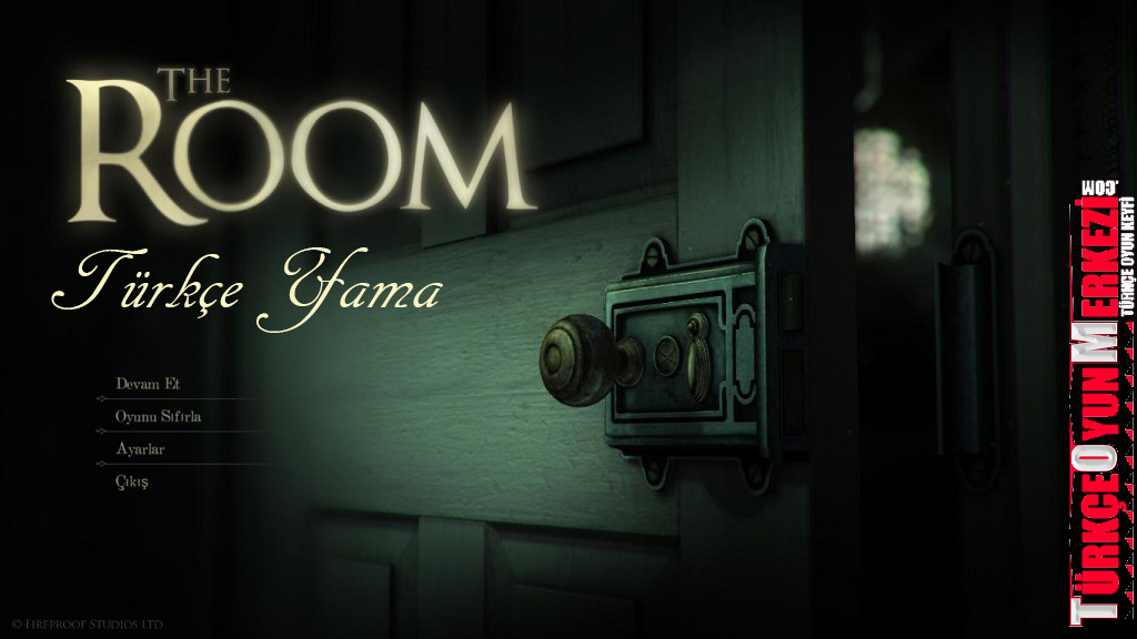 The Room [PC] Türkçe Yama