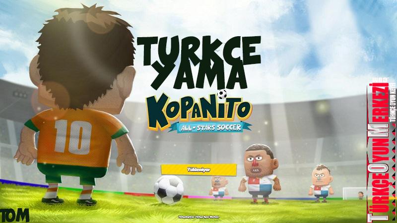 Kopanito All-Stars Soccer % 100 Türkçe Yama