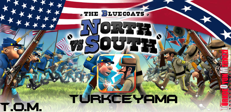 The Bluecoats North vs South %100 Türkçe Yama