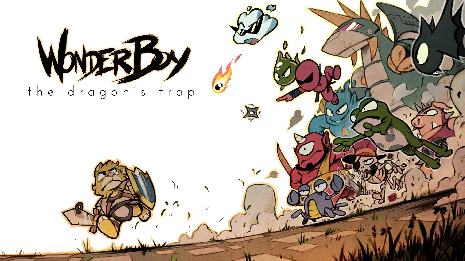 Wonder Boy The Dragon's Trap %100 Türkçe Yama